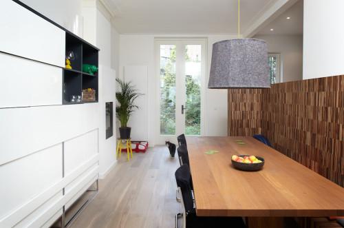 Keuken en eethoeknoknok interieurarchitectuur en meubelontwerp - Keuken met bank ...