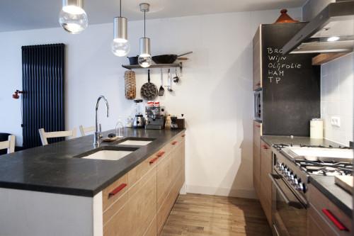 Keuken Walnoot : Keuken van walnootfineer
