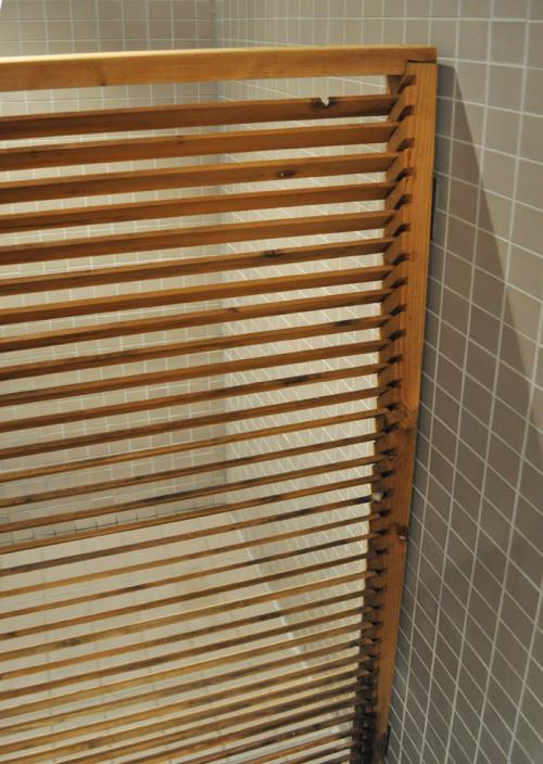 houten douchedeur